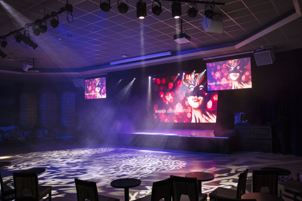 Sinah Warren Cabaret Lounge - refurbished by TROY group UK