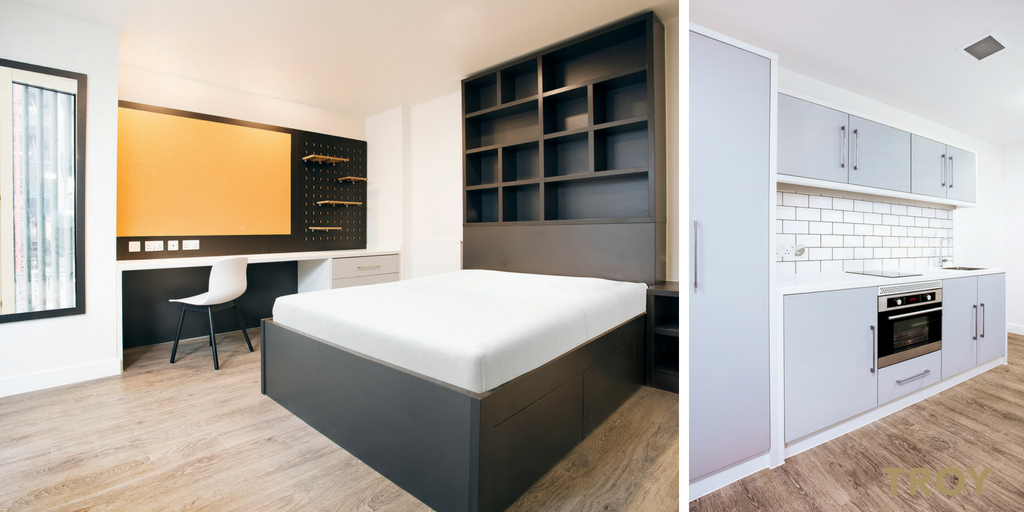 IQ Student Living - Shoreditch, London - refurbished by TROY group in 2018