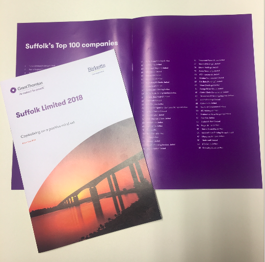 Suffolk 100 brochure